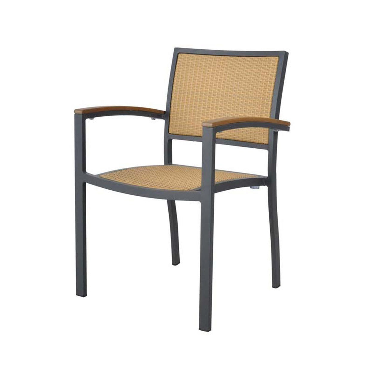 Emma Flat Wicker Armchair - ContractWorld Furniture
