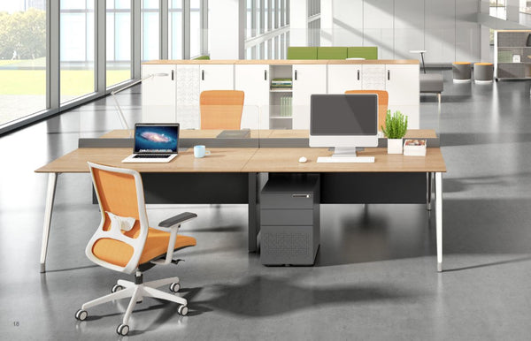 i-Varna 4-seater Executive Office Desk - ContractWorld Furniture