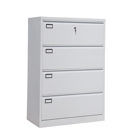 Rendex 4-Layer Lateral File Cabinet - ContractWorld Furniture