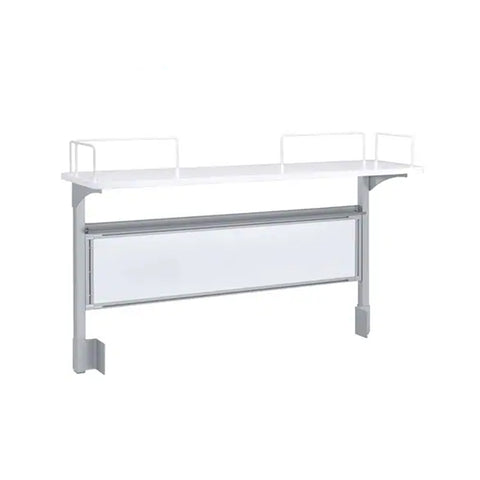 (INCOMING) Flo Whiteboard with Shelf - ContractWorld Furniture