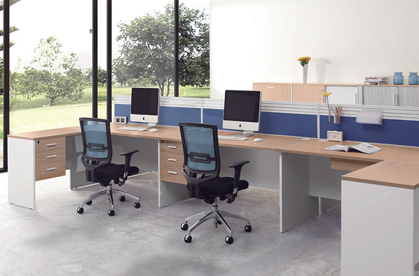 Natural Staff Desk - ContractWorld Furniture