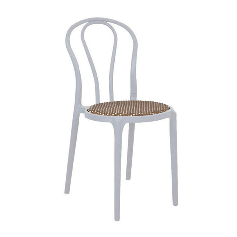 Parker Chair with Wicker Seat - ContractWorld Furniture
