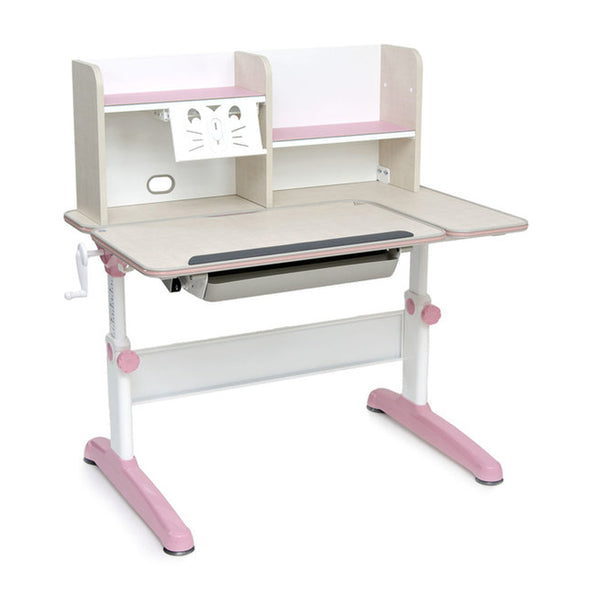Tiara Study Table with Bookshelf - ContractWorld Furniture