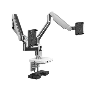 Humanscale Dual Monitor Arms - M2.1 M/Flex with M/Connect2 - ContractWorld Furniture