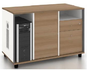 Capital Melamine Side Cabinet - ContractWorld Furniture