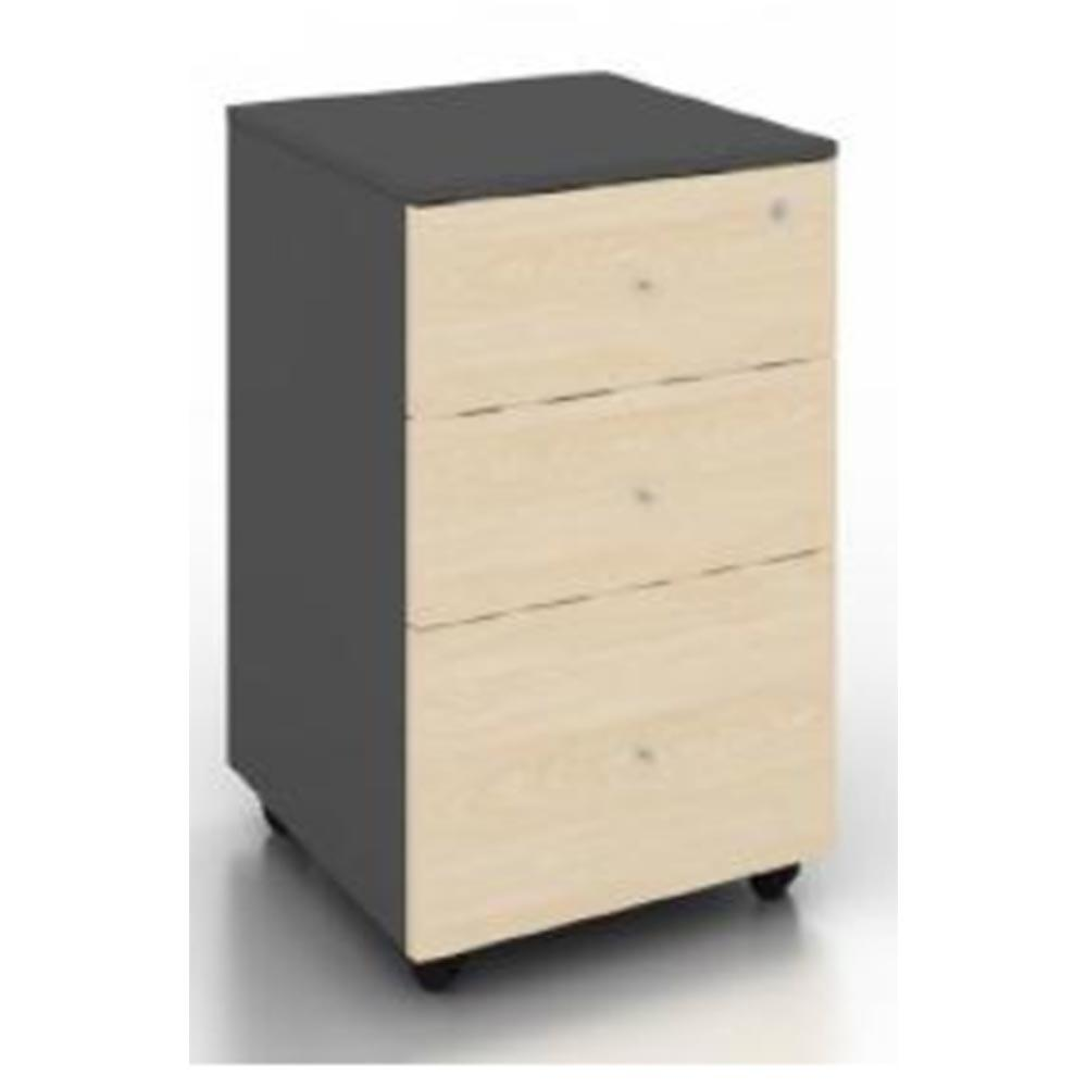 Clique Melamine Mobile Cabinet - ContractWorld Furniture