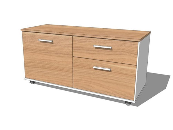 Coda Melamine Mobile Cabinet - ContractWorld Furniture