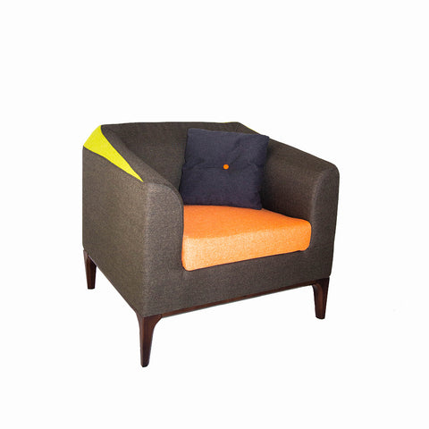 Flower Lounge Sofa with Wooden Base - ContractWorld Furniture