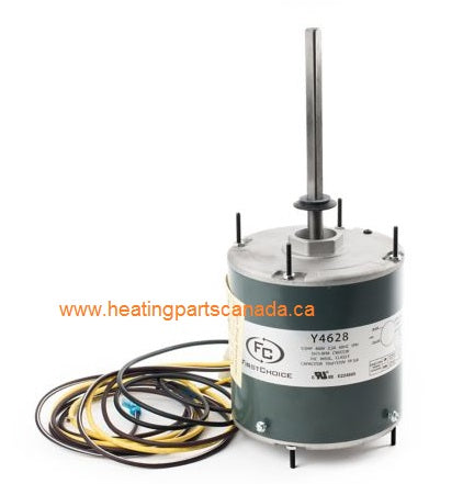 FirstChoice Y4628 | WG840738HT-EW  Condenser Fan Motor, 1/2 HP