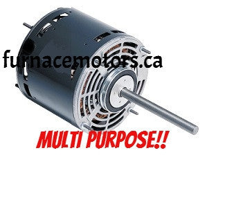 Multi-purpose 1/3-1/4-1/6-1/7 HP 115V Fan Blower Motor Canada -