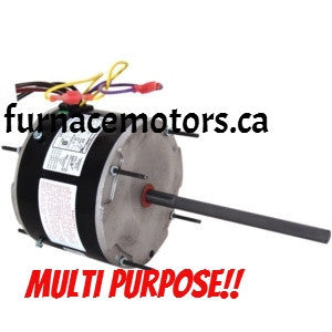 Multi-purpose Condensor Fan Motor Canada  1/3-1/6 HP