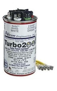 TURBO200 - RUN CAPACITOR 2.5-67.5 MFD