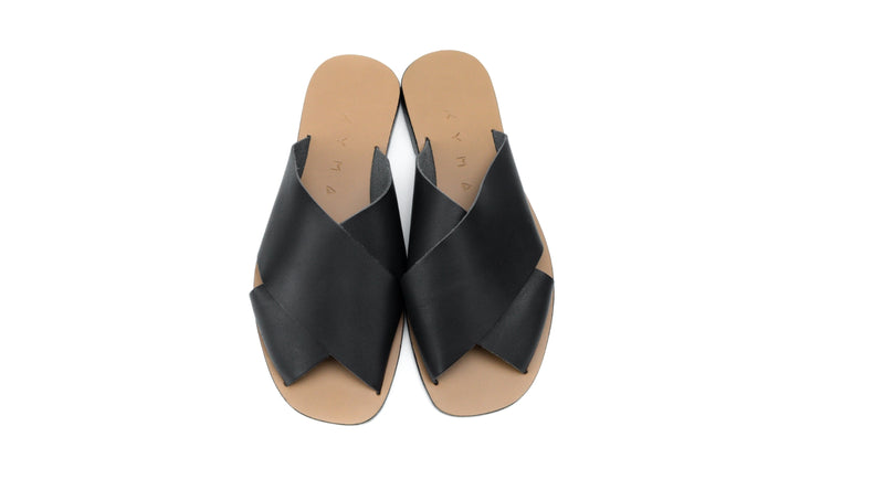 CHIOS SQUARE - LIGHT BROWN/BLACK