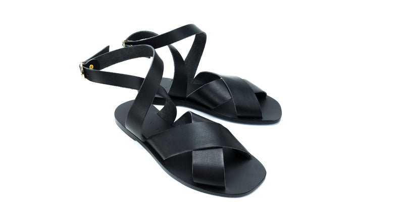 PATMOS SQUARE - BLACK/BLACK