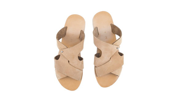 PSERIMOS - LIGHT BROWN/LIGHT BROWN SUEDE