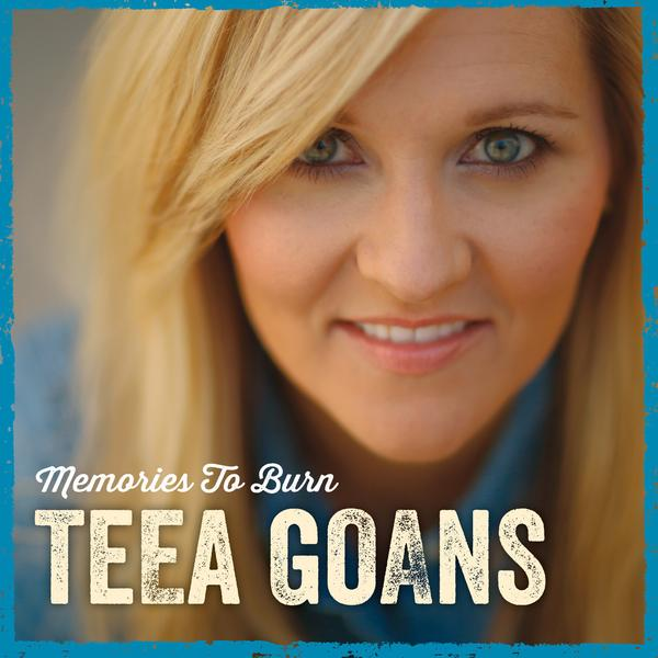 Autographed Teea Goans CD - Memories To Burn