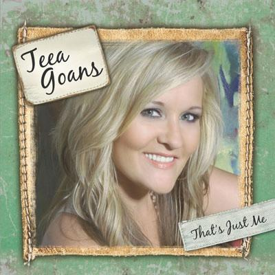 Autographed Teea Goans CD - That's Just Me