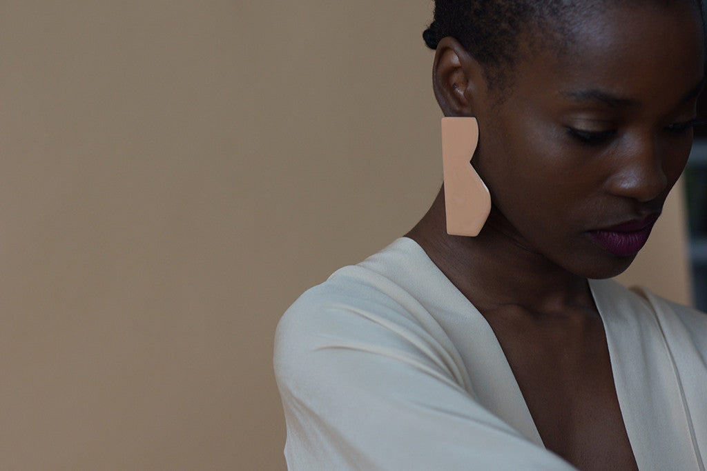 contre forme earrings no. 5