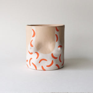 "Universal Isaac ""Hockney"" Pot, Orange"