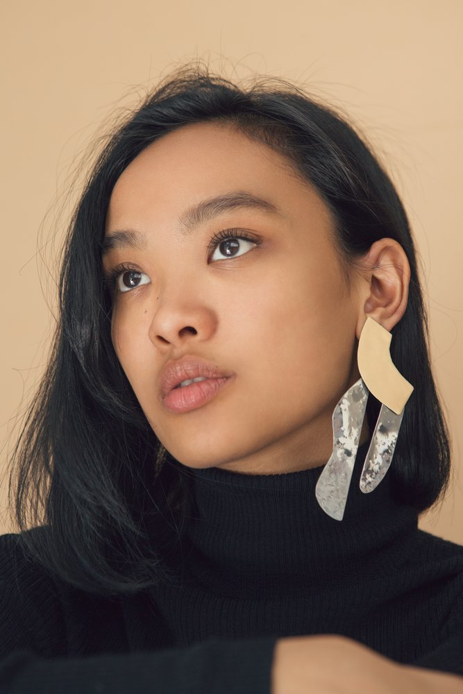 somi studio julie thevenot statement earrings