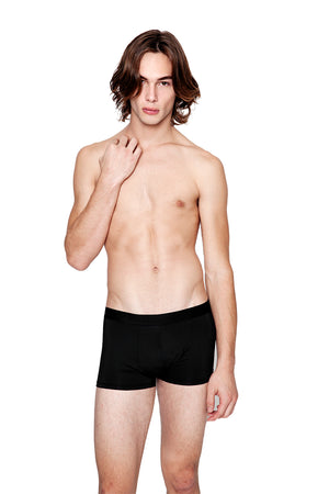 men's gamma boxer, black