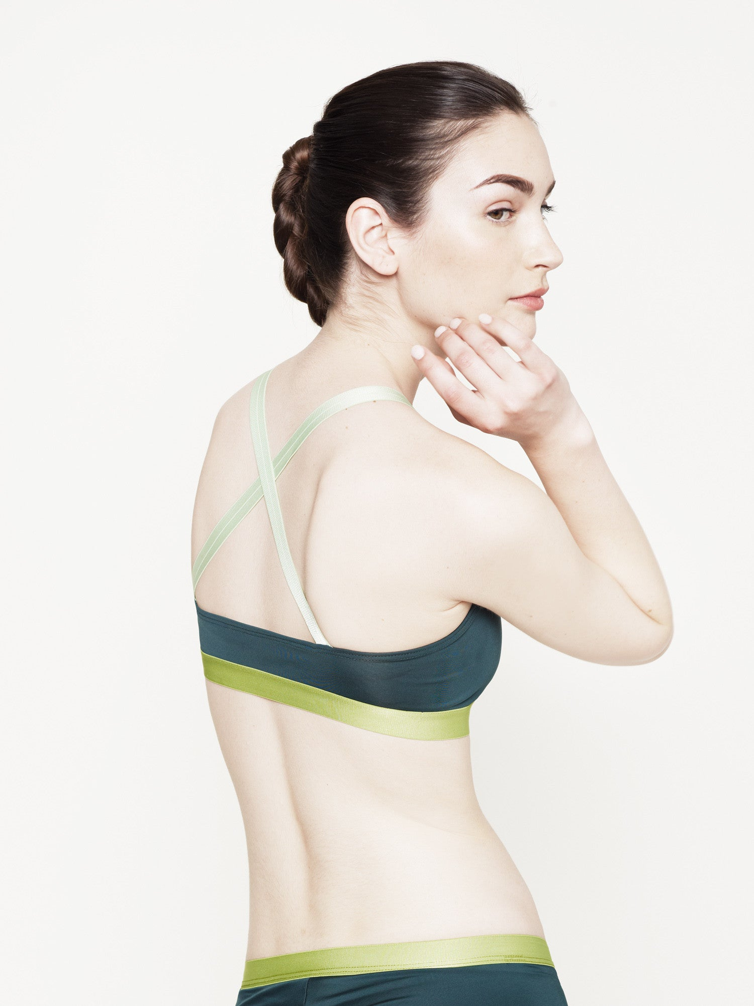 "the ""mo"" cross-back bra"