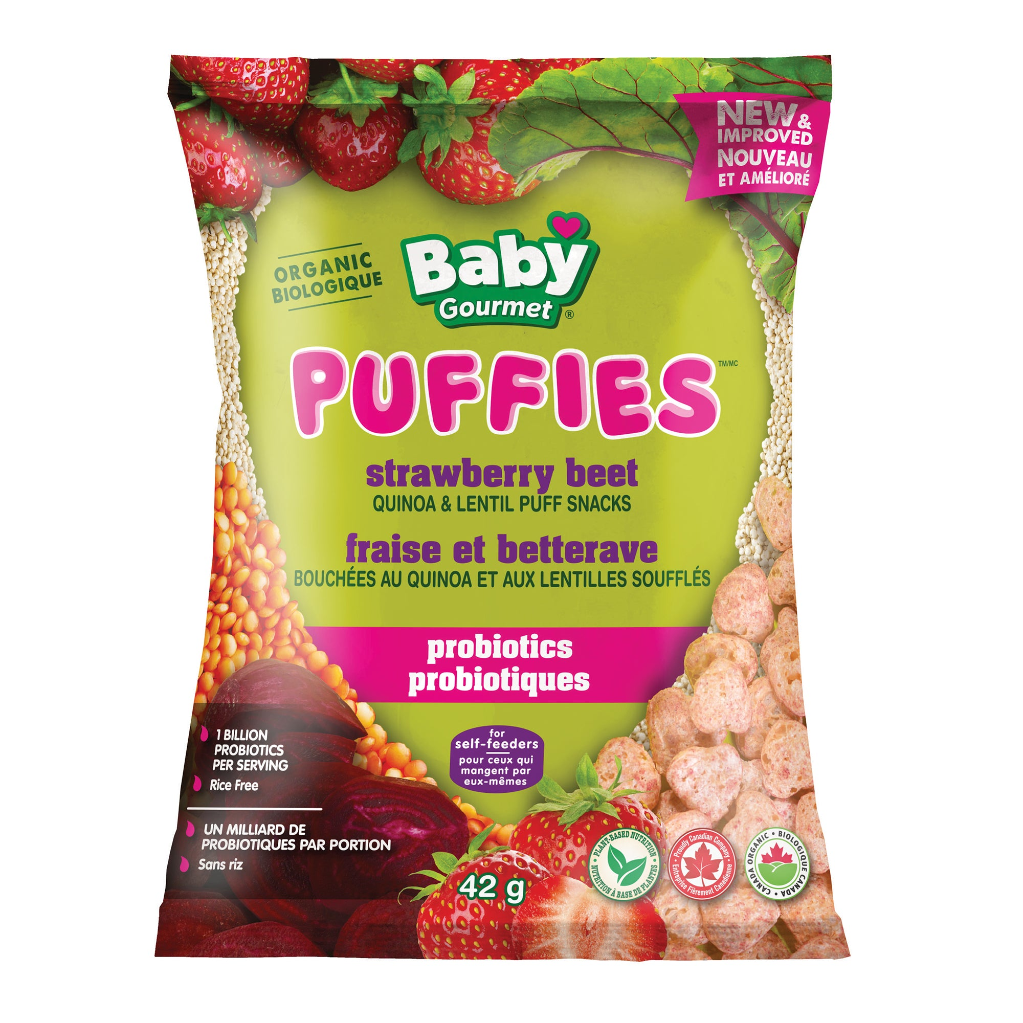 strawberry beet Puffies
