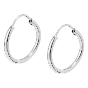 UNITE EARRINGS SILVER