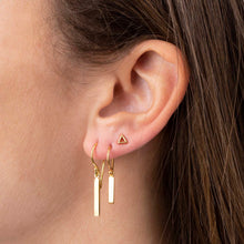 Load image into Gallery viewer, VAJAH EARPINS GOLD PLATED