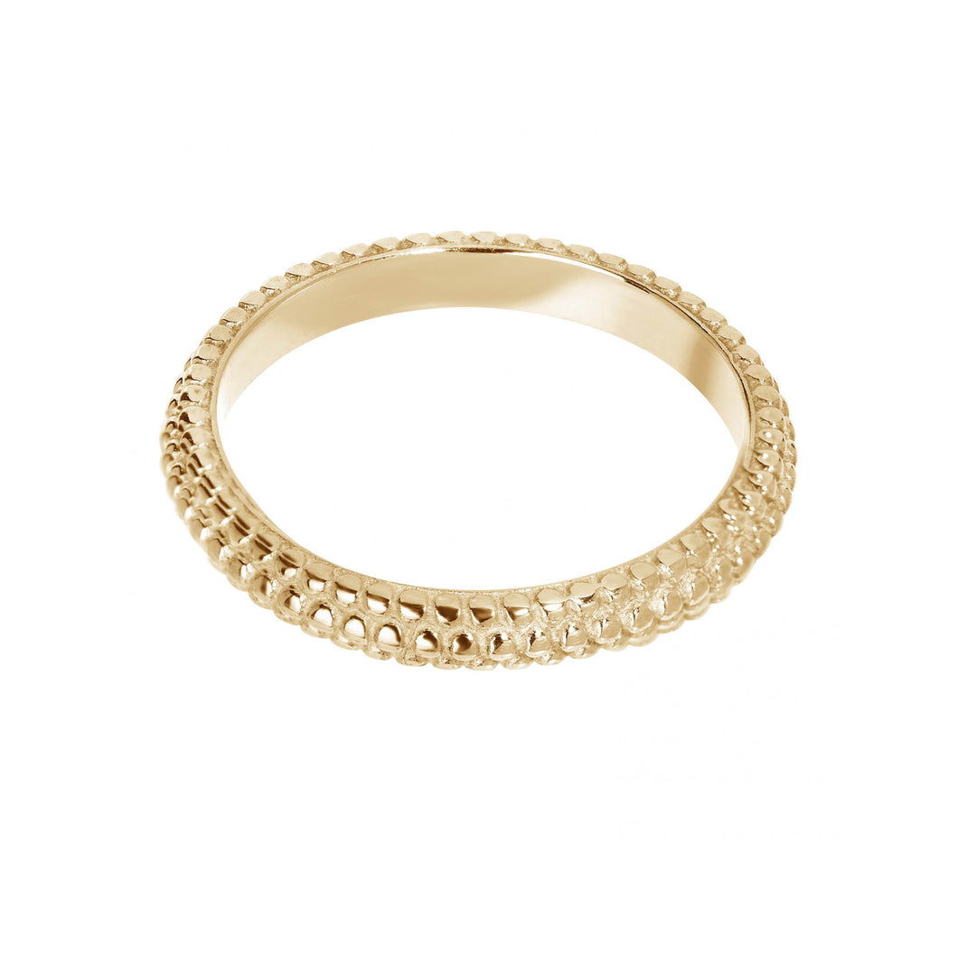 AILY RING GOLD PLATED