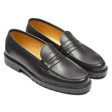 Load image into Gallery viewer, BLACK DALIOR LOAFER