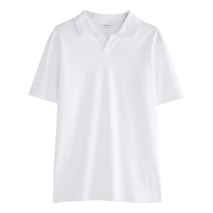 LYCRA POLO T-SHIRT WHITE