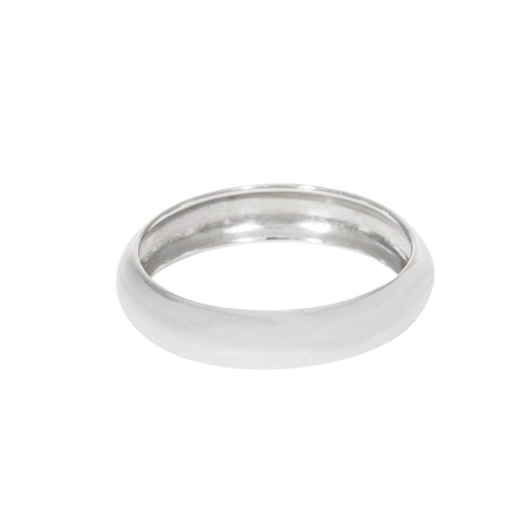 BOLD STACK RING SILVER