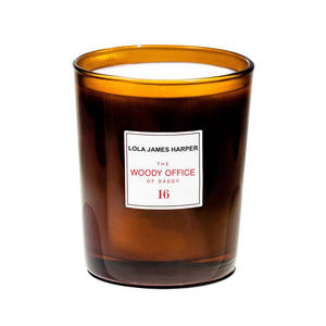 16 WOODY OFFICE CANDLE