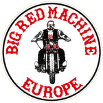"81 Support Aufkleber ""BIG RED MACHINE EUROPE - BIKER"" - REDANDWHITESTORE ROUTE 81"