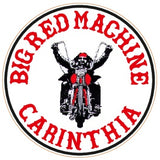 "81 Support Aufkleber ""BIG RED MACHINE CARINTHIA - BIKER"" - REDANDWHITESTORE"