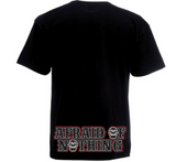 "T-SHIRT ""EIGHTYONE - AFRAID OF NOTHING"" - REDANDWHITESTORE ROUTE 81"