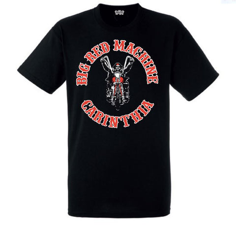 "T-SHIRT ""BIG RED MACHINE CARINTHIA - BIKER"" - REDANDWHITESTORE ROUTE 81"