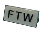 "81 Support Pin ""FTW"" - REDANDWHITESTORE"