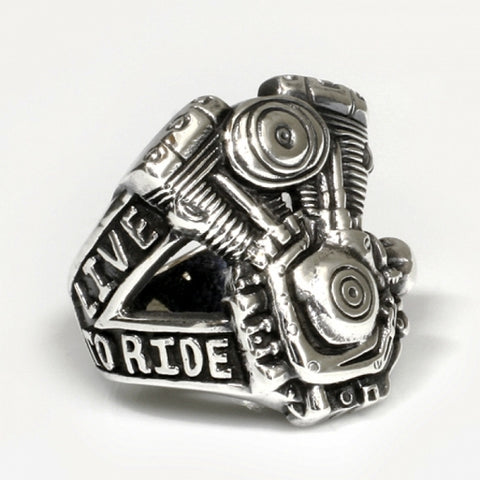 "SILBER RING ""V2 MOTOR"" LIVE TO RIDE - REDANDWHITESTORE ROUTE 81"