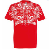 "T-SHIRT ""RED & WHITE MOTORCYCLECLUB"" - REDANDWHITESTORE ROUTE 81"