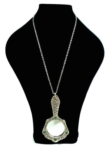 HUZZAR DESIGN Beautiful Vintage Indian Mirror Pendant