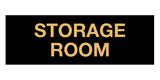 Black Gold Signs ByLITA Basic Storage Room