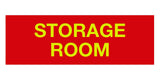 Red/Yellow Signs ByLITA Basic Storage Room