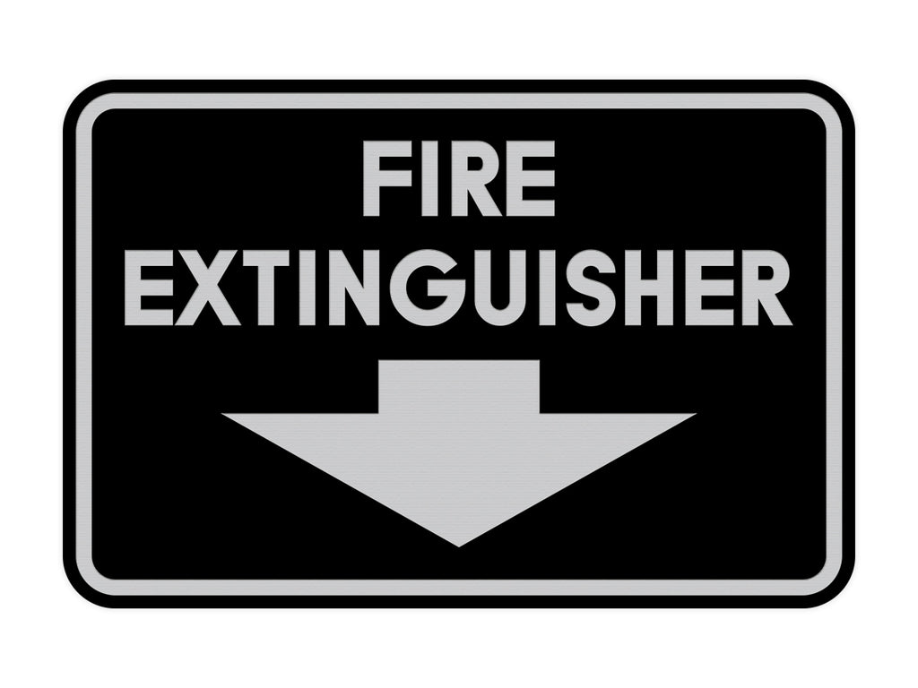 Signs ByLITA Classic Framed Fire Extinguisher