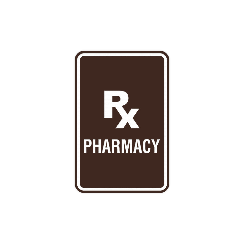 Portrait Round Rx Pharmacy Sign