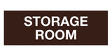 Dark Brown Signs ByLITA Basic Storage Room