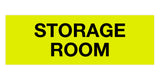 Yellow / Black Signs ByLITA Basic Storage Room