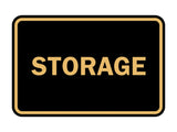 Signs ByLITA Classic Framed Storage Sign
