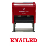 EMAILED Office Self-Inking Office Rubber Stamp